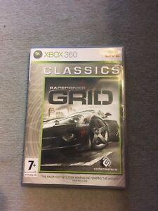 FidèLe Racedriver Grid Xbox 360 Jeu Live-afficher Le Titre D'origine