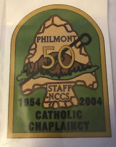 2004 Philmont Staff NCCS 50 Years  Catholic Chaplaincy Mint
