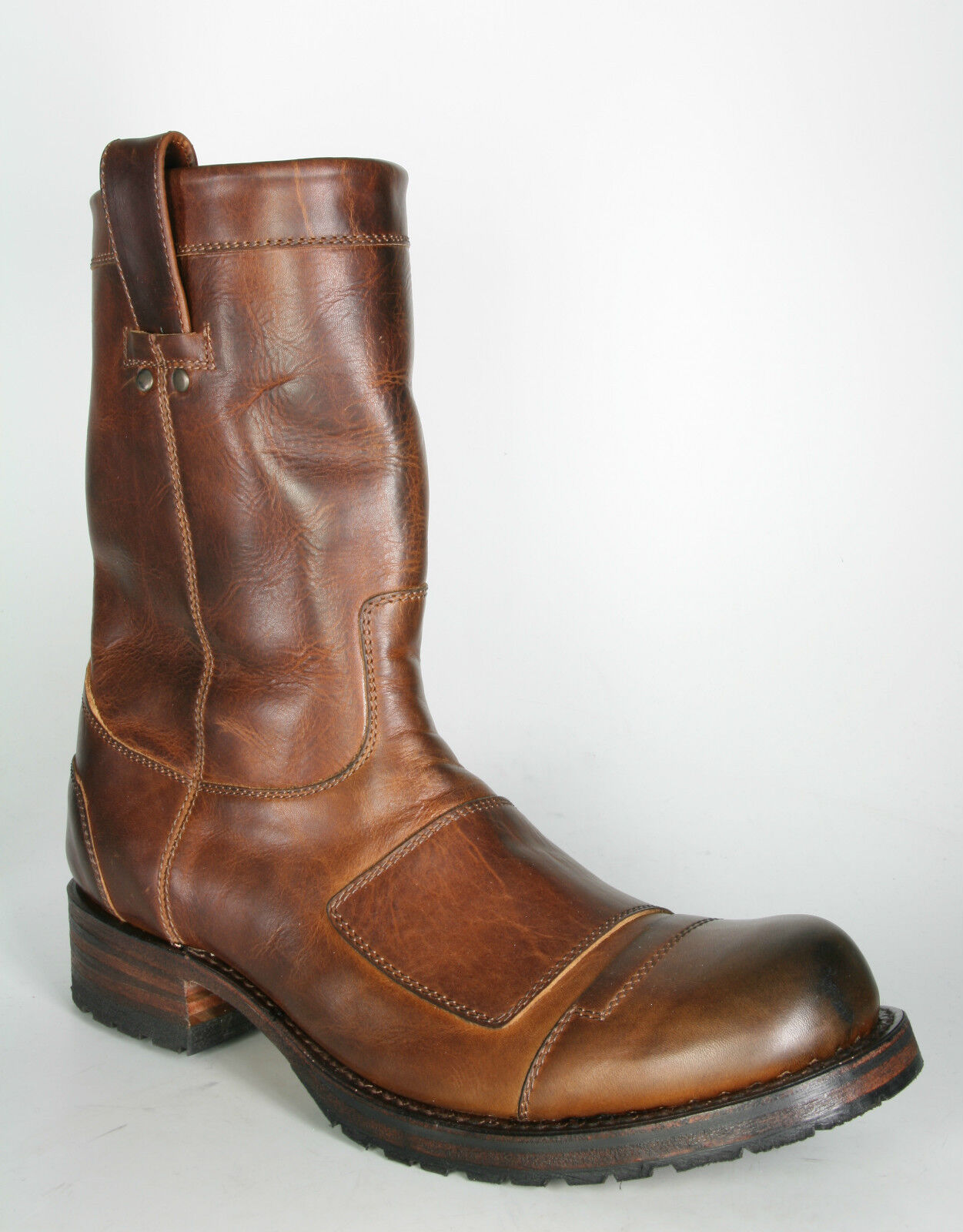 9807 Sendra Stiefel MAY Evolution Tang brown Bikerboots