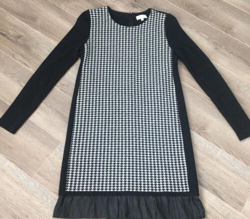 Clu houndstooth wool sweater dress