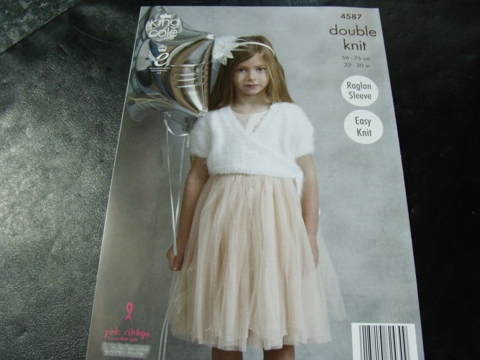 0609706c14ce Girls Ballet Tops for King Cole Embrace DK Yarn Knitting Pattern ...