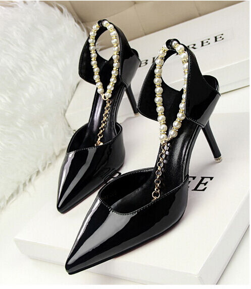Décollte Chaussures éscarpins sandales femmes 10,5 cm talons aiguilles