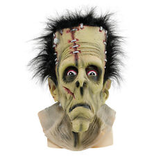 Adult Frankenstein Mask Herman Munster Halloween Monster Fancy Dress Accessory