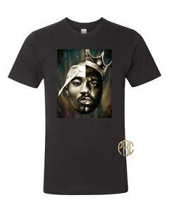 BIGGIE SMALLS T-SHIRT Mens Notorious BIG Tee Top Tupac Shakur 2Pac Unisex