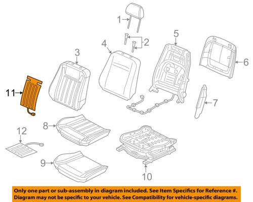 CHRYSLER OEM Seat Heater-Element 68102969AA