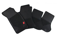 Late 1999 to 2002 Audi A4/S4 Audi Sport Factory OEM Accessory Rubber Floor Mats