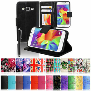 25b2d9ef811 For Samsung Galaxy Core Prime/ Fame/Ace 4 Wallet PU leather Book ...