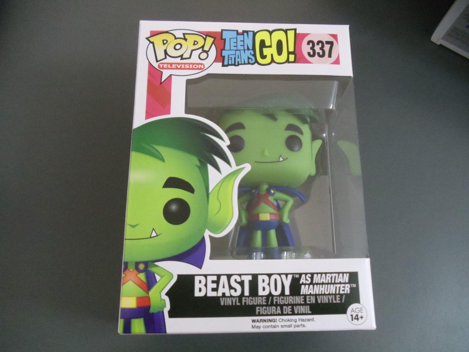 Funko Pop Pop Pop Teen Titans Go Beast Boy As Martian Manhunter e6b491