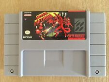 Super Metroid Super Nintendo SNES Game Reproduction, Free Shipping!