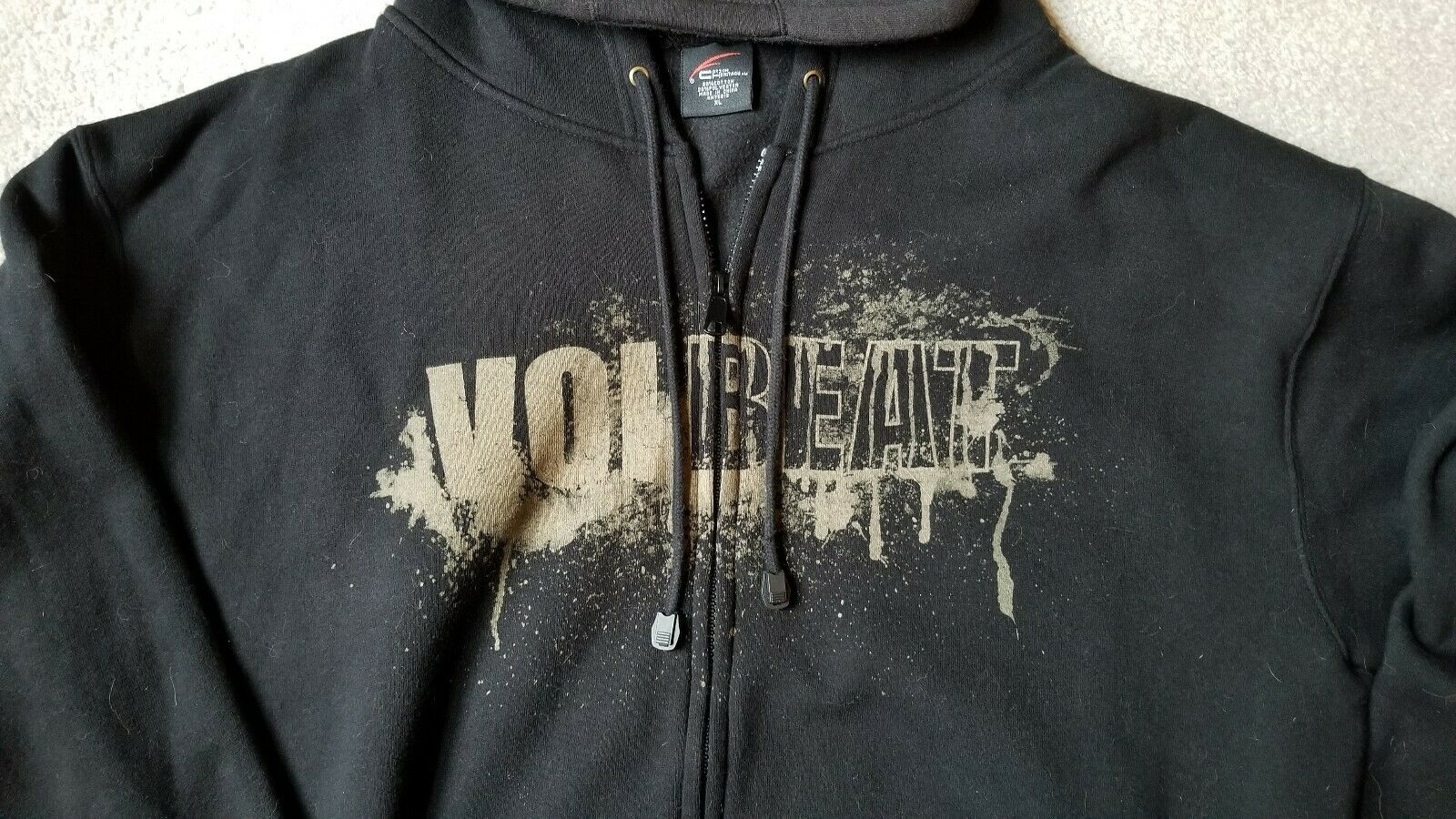 VOLBEAT hoodie size XL. EXCELLENT condition!!!! - image 3