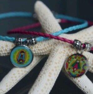 1 Necklace Virgencita Plis With Organza Bag Ebay