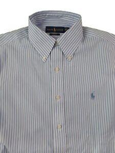 265d7ef0c2 A imagem está carregando Polo-Ralph-Lauren-Masculino-Ferro-nao-Vestido- Camisa-