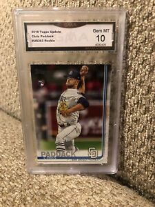 2019-Topps-Update-Chris-Paddack-Rookie-Graded-10-San-Diego-Padres