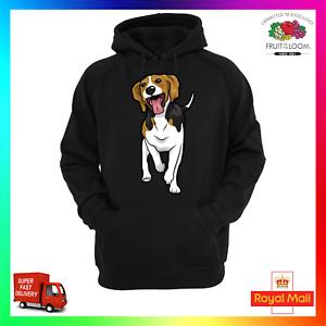 Beagle Unisexe Sweat à capuche Sweat à Capuche Mignon Sweat dog puppy chiot Rescue adopter Doge mème