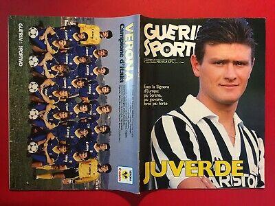 GUERIN SPORTIVO 1985 n. 31 ALDO SERENA VERONA SCUDETTO ...