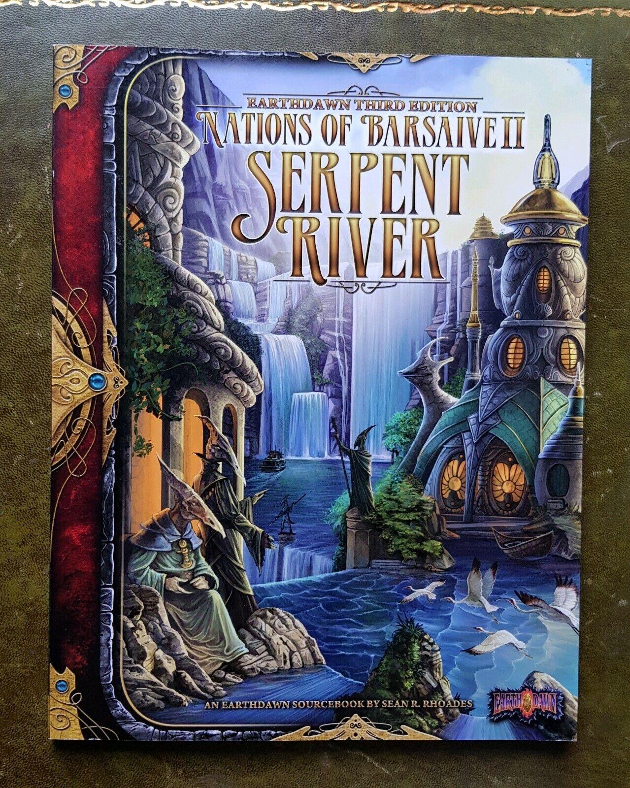 NATIONER OM BARSAV II  SERPENT RIVER - EkonsthDAWN 3RD RPG FASA 2 ROLEspelaing