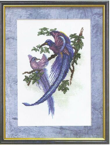 Cross Stitch Kit Birds of Paradise art.566