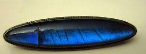 Broche fantaisie Jolie monture métallique Pierre bleue fendue - France - État : Occasion: Objet ayant été porté. Consulter la description du vendeur pour avoir plus de détails sur les éventuelles imperfections. ... Couleur dominante: Bleu - France