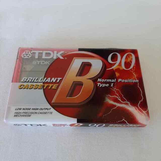 TDK B90 Blank Cassette Tape Audio Normal Position Type I Brand New