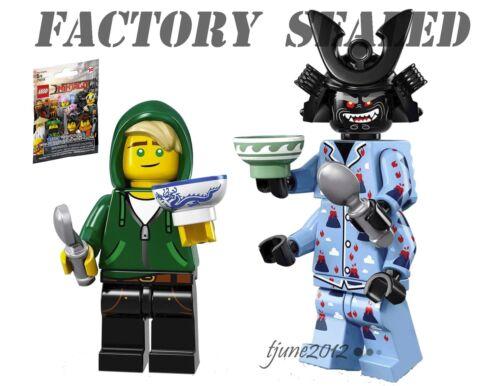 NEW LEGO Ninjago Movie Volcano Garmadon Lloyd Garmadon Minifigures 71019 Lot 2