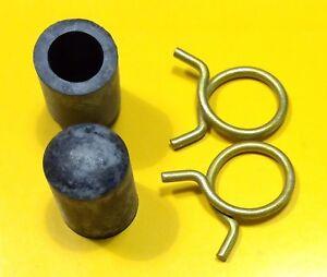 For-Mopar-Correct-HEATER-DELETE-Cap-Clamp-Kit-Hemi-Max-Wedge-340-440-Plymo-Dodge