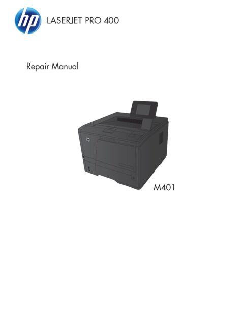manual hp deskjet 400