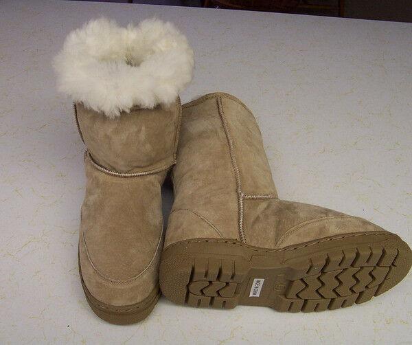 une une une véritable peau de mouton australien en peau de mouton / des bottes en daim - un confort chaleureux fea620