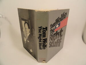 The-Right-Stuff-Thomas-Wolfe-HC-DJ-First-Edition-First-Printing-1979-Astronauts
