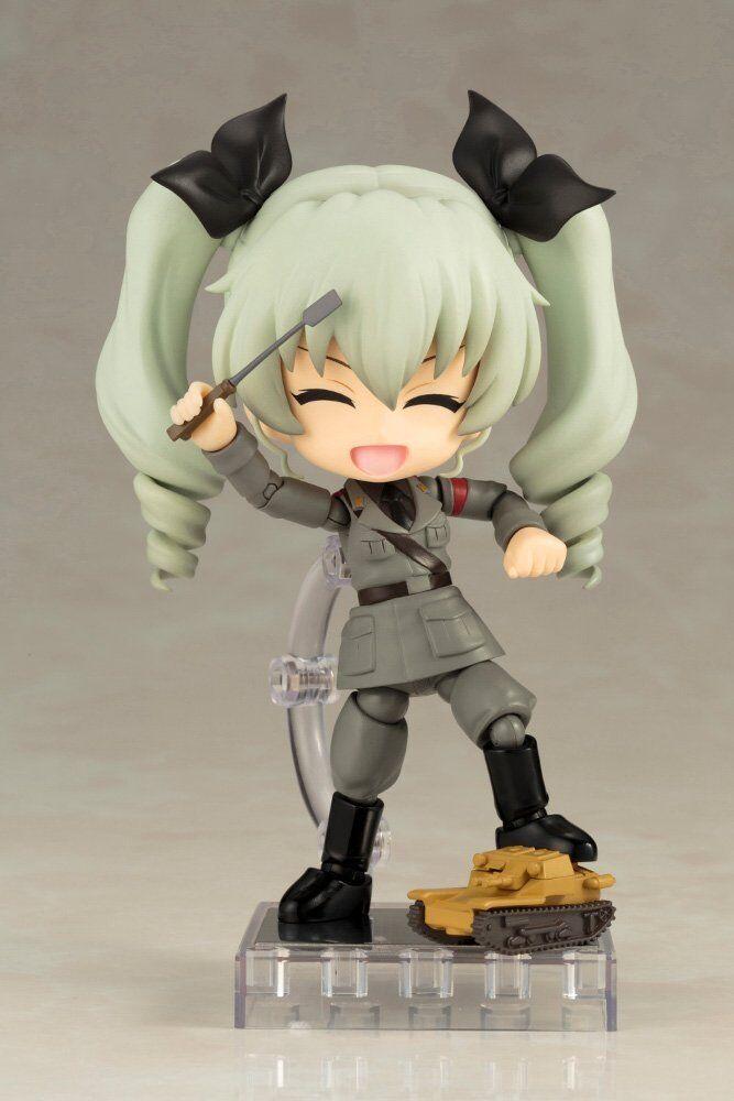 Kotobukiya Queue Posh Posh Posh Cu-poche Girls und Panzer the Movie Anchovy Action Figure d6e27e