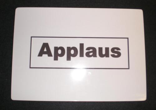 Applaus - Karte DIN A 6