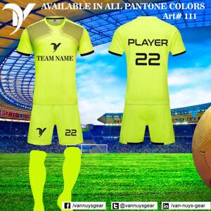 6647e7255 VANS Men s Adult Youth Soccer Kit Football Sport 12 Soccer Uniform ...