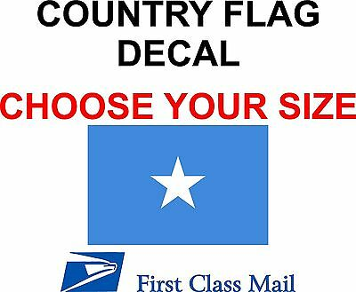 STATE FLAG 5YR VINYL STICKER AMERICAN COUNTRY FLAG DECAL