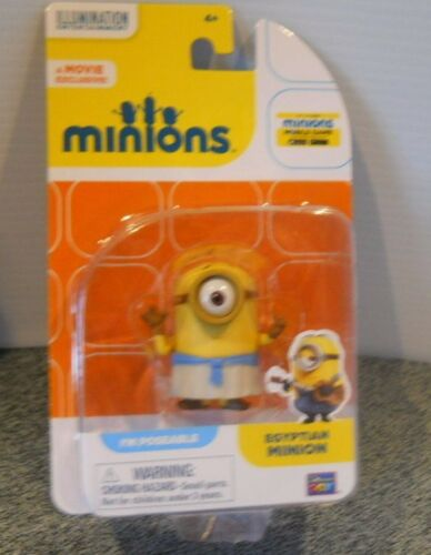 A Movie Exclusive I/'m Poseable Egyptian Minion Ages 4 Sealed Original New