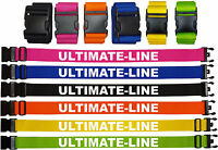 Personalised Strap, Safe Belt Printed With your Company Name / Logo  Free P&P