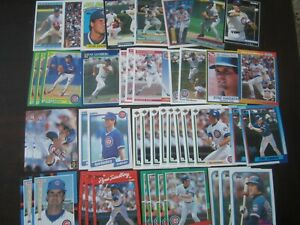 Huge-Lot-of-45-Ryne-Sandberg-Baseball-Cards-Cubs
