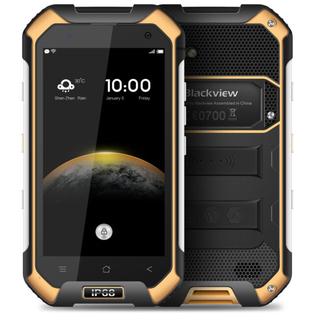 "Blackview BV6000S Android 6.0 4.7"" 4G Smart Phone Quad Core 2GB+16GB Shockproof"