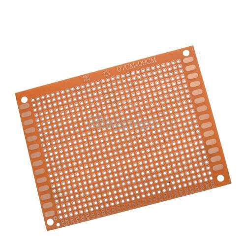 2Pcs NEW 7 x 9 cm DIY Prototype Paper PCB For Universal Board prototyping pcb