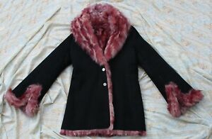 STEPHEN-Women-039-s-Real-Genuine-Fitted-Toscana-Shearling-Fur-Coat-Jacket-Small