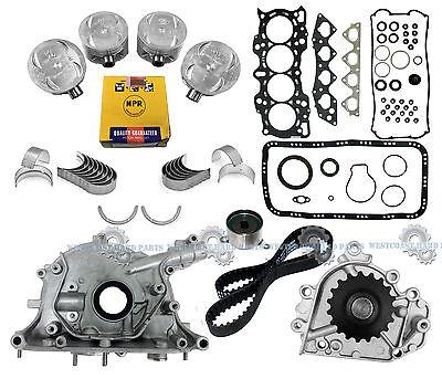 Honda//CR-V DNJ EK215 Engine Rebuild Kit for 1997-1998 16V B20B4 2.0L L4 1972cc DOHC