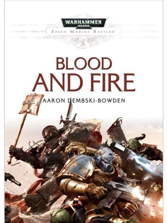 BLOOD e FIRE nuovo 40k HC Novel giocos  lavoronegozio oop  wholesape economico