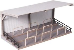 NOCH-HO-SCALE-1-87-SPECTATOR-STAND-PRESS-BOX-BN-14398