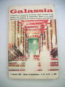 Galassia-Rivista-di-Fantascienza-1-Gennaio-1966-Anno-VI-n-61-La-Tribuna-Ed