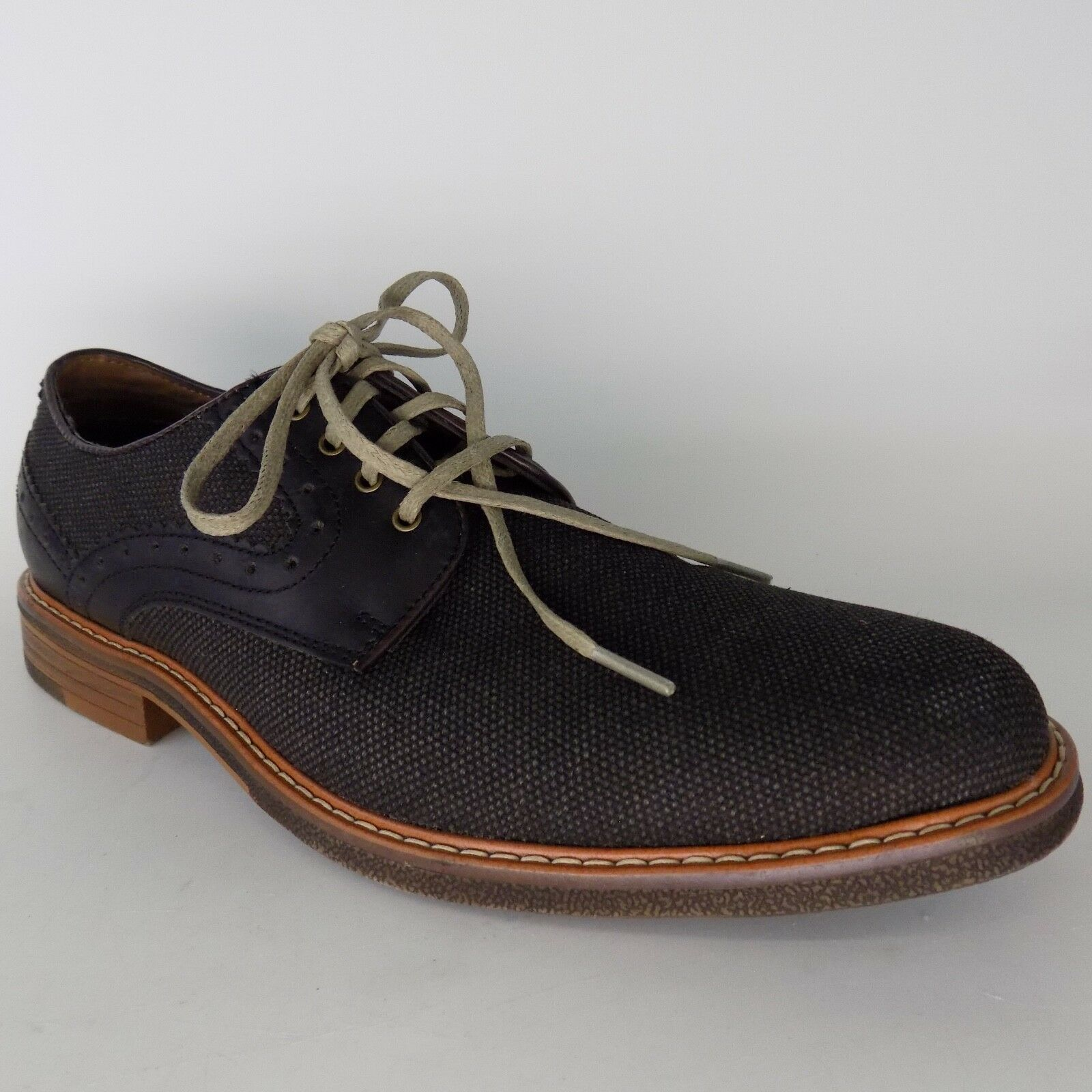 Dockers  Leather Lace-up Black Men Dress shoes Size 9 M AL4439