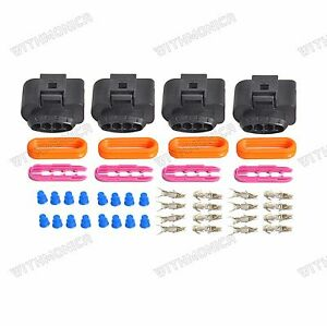 s l300 audi vw ignition coil wiring harness connector repair kit a4 a6 a8 Wire Harness Maintance at readyjetset.co