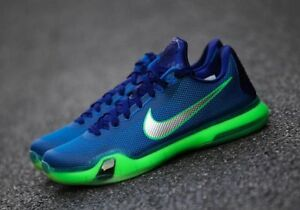502de03c8e90 Nike Kobe 10 X Low Emerald City 705317-402 Green Royal Blue Seattle ...