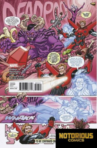 Despicable Deadpool #287 Secret Variant Marvel Comics 1st Print EXCELSIOR BIN