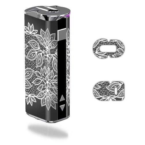 Skin Decal Wrap for Eleaf iStick 30W mod sticker vape Floral Lace