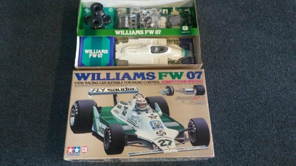 Vintage Tamiya Williams FW 07 (competencia especial) RA1019 (58019)