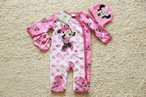 Toddler-Baby-Romper-Jumpsuit-Outfits-Clothes-Long-sleeves-Beanie-Glove-Set