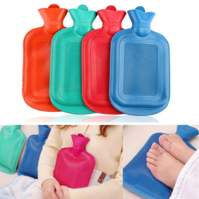 HOT WATER BOTTLE BAG WARM Hot Thick Rubber Relaxing Heat Cold Therapy Newest~